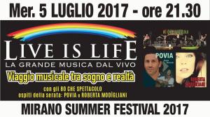 Live is Life Mirano