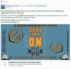 Organizzazione CerabrationFest